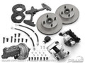 Disc Brake Conversion Kit W/master Cylinder - 6 Cylinder, Dual Master Cylinder, Power, Automatic Only