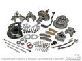 Disc Brake Conversion Kit w/ master Cylinder - automatic, Power