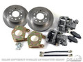 64-73 Mustang Rear Disc Brake Conversion Kit, 28 Spline
