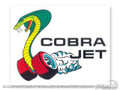 Cobra-jet Window Decal