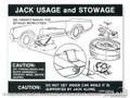 Jack Instructions (space Saver Wheel)