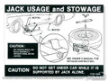 Jack Instructions (late 67, 68)