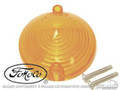 65-66 Parking Light Lens (amber, Concours)