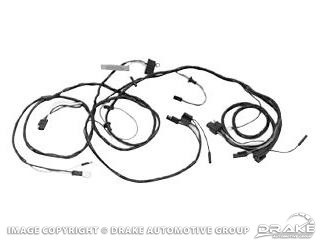 66 Headlight Wiring Harness, with Gauges