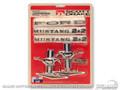 65-66 Fastback Emblem Kit (8 Cylinder)