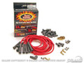 Pertronix High Performance 8mm Spark Plug Wire Set (red)