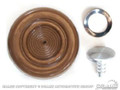 68-73 Window Crank Knob (ginger)