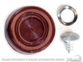 68-73 Window Crank Knob (maroon)