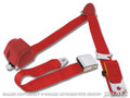 3-point Seatbelt /brite Red