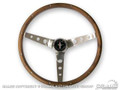 64-73 Grant Steering Wheel, Walnut Wood