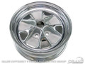 64 Styled Steel Wheel - 14x5 With Chrome Rim And Argent Paint
