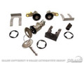 87-93 Door/Trunk/Glovebox Lockset