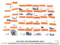 70 Interior Fastener Kit (coupe)