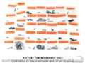 70 Interior Fastener Kit (convertible)
