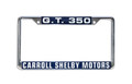 Shelby GT 350 License Frame