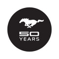 Mustang 50 Years Windshield Decal