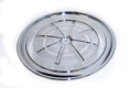 67 Air Cleaner Lid, Chrome, 16 3/4""