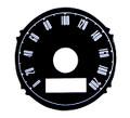 67-68 200Km Speedo Overlay-120M