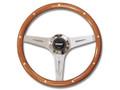 """64-73 Grant Steering Wheel, Mahogany, 14"""""""