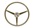 65 Mustang Steering Wheel, Ivy Gold