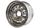 68-69 Styled Steel Wheel, 15x7, Chrome