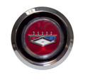 69-73 Ford Magnum Hub Cap, Red