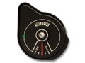 69 Alternator Gauge, Black