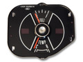69 Fuel and Temperature Gauge, Black