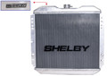 65-66 Shelby Aluminum Radiator, 289/302, Manual Transmission