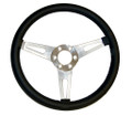 "65-73 GT350 Steering Wheel, 15"", Leather"