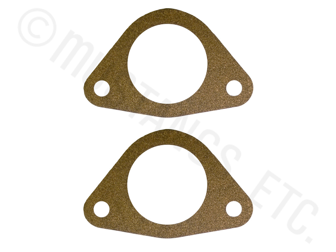1957 1972 Full Size Ford Front Drum Brake Backing Plate Gaskets 1970 F250 Rear Axle Nut Socket Image 1