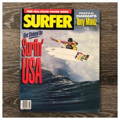 Garage Sale: Surfer Magazine March 1991