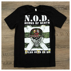Garage Sale: Nerds of Death t-shirt