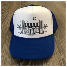 974 Surfy Trucker hat *blue/white*