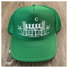 974 Surfy Trucker hat *green*