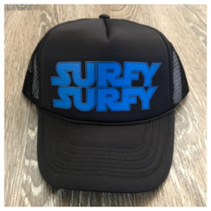 Surfy Wars trucker hat *Blue Logo*