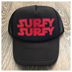 Surfy Wars trucker hat *Red Logo*