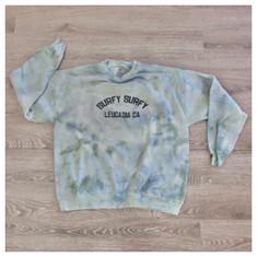 Surfy Arch Sweatshirt - Tie-dye - size XL