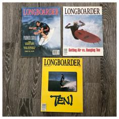 Garage Sale: Longboarder Mag issues 1-3