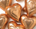 Foil Dark Chocolate Hearts