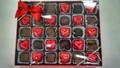 Foil Hearts & Chocolates 1 lb box