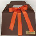 MILK CHOC PRETZEL BITES 1.5# BOX - Fall Box