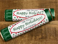 Happy Holidays Milk Chocolate Candy Bar