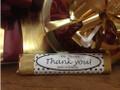Thank You Milk Chocolate Candy Bar 1.5 oz