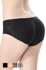 Insta Booty Laser Cut Seamless Mid Waist Buttocks Enhancer Panty