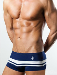 Hot Sailor Navy Blue Men's Hipster Cotton Brief