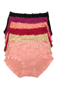 Rosa Sheer Lace Microfiber Panty