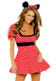 Sexy Minnie Mouse Skater Dress costume XL