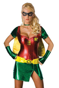 Posh Robin Metallic Costume