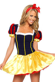 Snow White Princess Lace-up Back Costume